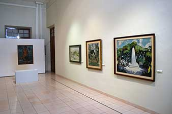 Escuela Mexicana de Pintura. Vista de Sala