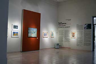 Exposición Roger von Gunten en el Museo Fernando García Ponce