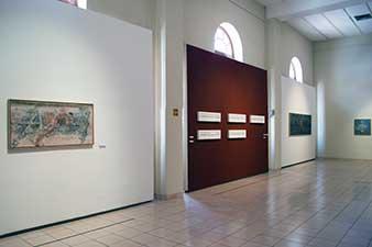Exposición Vicente Rojo. Vista de sala