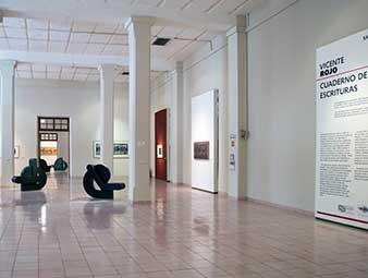 Exposición Vicente Rojo en el Museo Fernando García Ponce