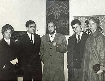 Galería de Antonio Souza. Inauguración de la la Galería de Antonio Souza