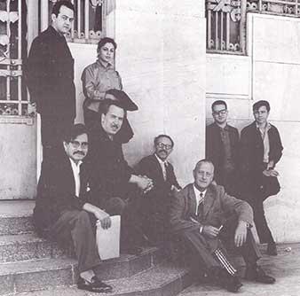 Grupo de pintores disidentes invitados a la bienal de Sao Paulo