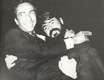 Juan Vicente Melo y Fernando García Ponce