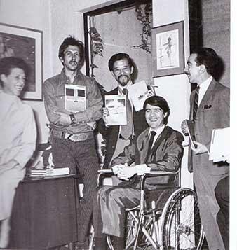 Kazuya Sakai, Juan García Ponce y otros
