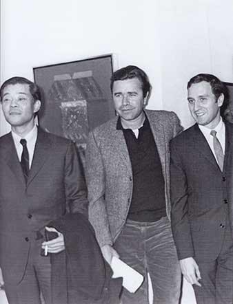 Kazuya Sakai, Manuel Felguérez y Vicente Rojo. Tomado de 'Tiempos de Ruptura'