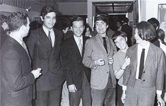 Mariano Rivera Velazquez, Kazuya Sakai, Juan García Ponce, Alba Rojo y Paulina Avista