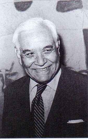 Rufino Tamayo en la exposición de Toledo, 1972.Tomado de 'Tiempos de Ruptura'