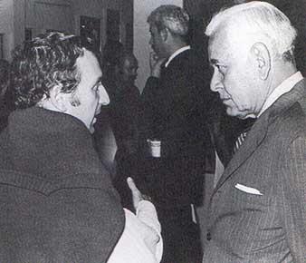 Rufino Tamayo, Vicente Rojo. Tomado de 'Tiempos de Ruptura'
